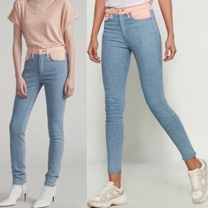 New rag & bone Phila High Rise Skinny Jeans
